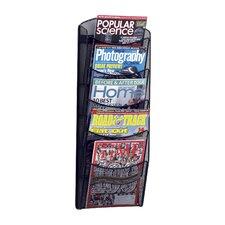 Mesh Literature Rack, 5 Compartments