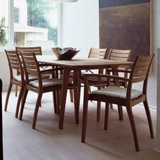 Teak Ballare Dining Table with Joint Filler