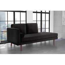 Jabari Mid Century Modern Upholstered Daybed