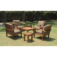 Buckingham 7 Piece Seating Group with Cushion