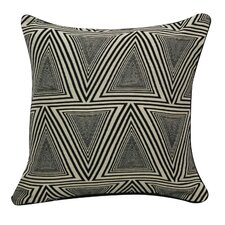 Urban Loft Triangles Throw Pillow
