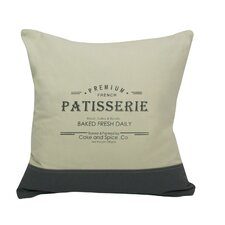 Urban Loft Patisserie Throw Pillow