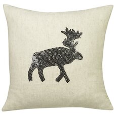 Urban Loft Moose Sequins Indoor/Outdoor Throw Pillow