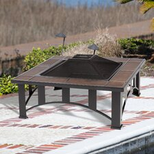 Sale Tuscan Tile Fire Pit Table