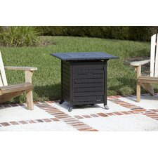 Donato Extruded Aluminum Propane LPG Fire Pit Table
