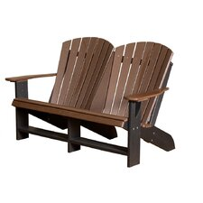Lovely Heritage Double Adirondack Chair