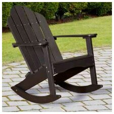 Classic Adirondack Rocker Chair
