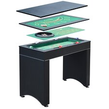 Hathaway Monte Carlo 4-in-1 Casino Game Table