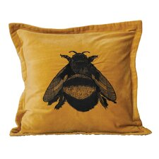 Honey Cotton Velvet Throw Pillow