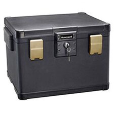 Waterproof Fire Chest with Key Lock 1.1 CuFt