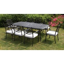 Versailles 8 Seater Dining Set with Cushions