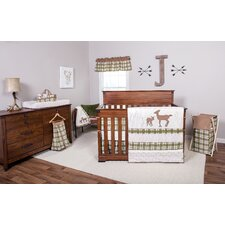 Deer Lodge 200 Thread Count 100% Cotton Fitted Crib Sheet