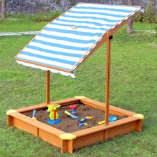 4' Square Sandbox with Cover