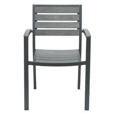 Eveleen Stacking Dining Arm Chair