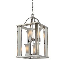 Lotus 6-Light Foyer Pendant