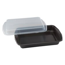 Signature™ Oblong Cook N' Carry Cake Pan  Baker's Secret