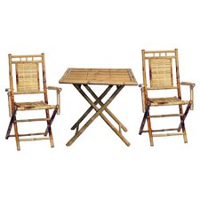 Karaman 3 Piece Dining Set