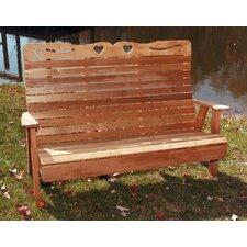 Cedar Benches Garden Bench