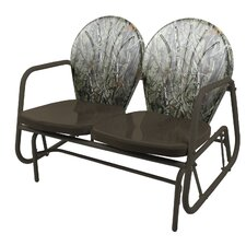 Camo Glider Bench