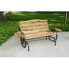 Country Garden Glider Bench