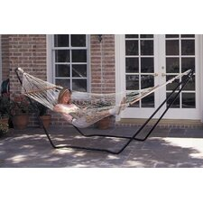 Hubert High Island Rope Hammock with Stand Combo