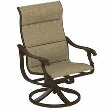 Ravello Padded Sling Swivel Action Lounger Chair