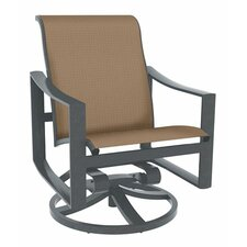 Best  Kenzo Sling Swivel Rocking Chair