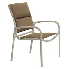 Comparison Millennia Padded Sling Dining Arm Chair