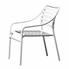 Lovely Kahana Stacking Dining Arm Chair
