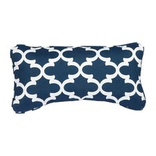 Stella Scalloped Indoor/Outdoor Lumbar Pillow (Set of 2)