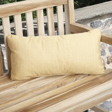 Knife Edge Indoor Outdoor Sunbrella Lumbar Pillow (Set of 2)