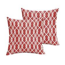 Valier Indoor/Outdoor Throw Pillow (Set of 2)