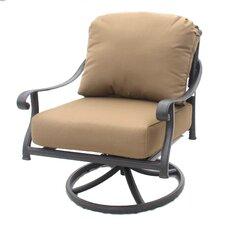 Callie Club Swivel Rocker Chair with Cushion