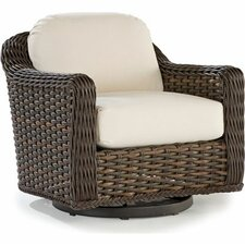 South Hampton Swivel Glider Lounge Chair with Cushions