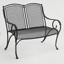 Read Reviews Modesto Wrought Iron Garden Bench