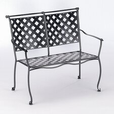 Maddox Wrought Iron Garden Bench