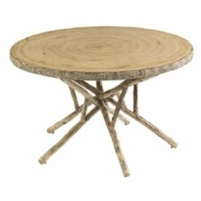 Today Sale Only River Run Round Birch Heartwood Dining Table