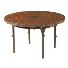 Chatham Heartwood Round Dining Table with Faux Top