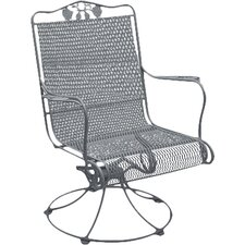 Briarwood High Back Lounge Rocking Chair