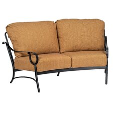 Ridgecrest Crescent Loveseat with Cushions
