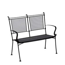 Bradford Wrought Iron Garden Bench