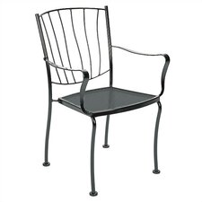 Wonderful Aurora Stacking Dining Arm Chair