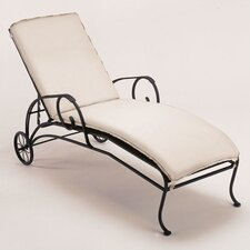 Modesto Chaise Lounge with Cushion