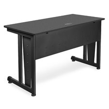"""48"""" W Training Table with Modesty Panel"""