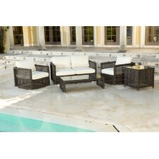 Matterhorn 5 Piece Deep Seating Group with Cushions