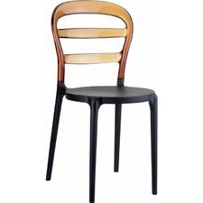 Miss Bibi Stacking Dining Side Chair (Set of 4)