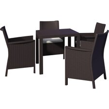California 5 Piece Dining Set
