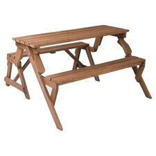 Herry Up Folding Picnic Table and Bench