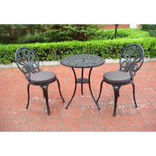 Sunset 3 Piece Bistro Set