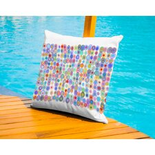 Dots A Gogo2 Outdoor Throw Pillow